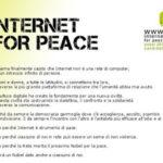 Internet per la pace?